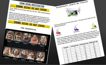 Fractions, Ratios, and Decimals CSI Mystery : Solving a Mystery Using Math