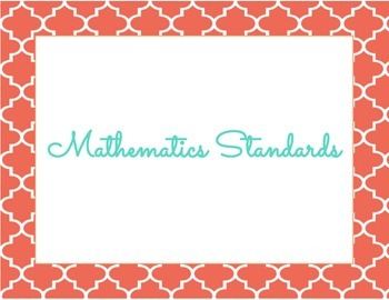 Mathematics Common Core Standards Kindergarten
