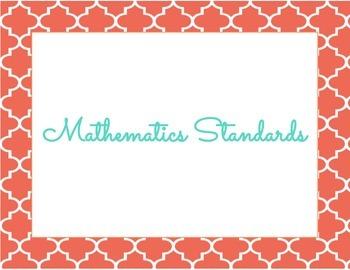 Mathematics Common Core Standards Kindergarten