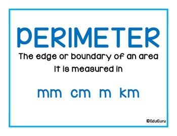 Mathematics Definition Posters FREEBIE