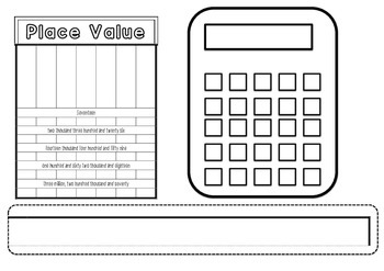 Mathematics Desk mat - Make your own!