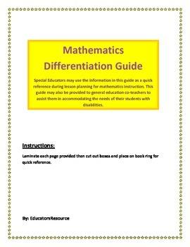 Mathematics Differentiation Guide