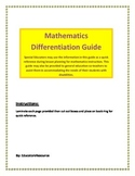 Mathematics Differentiation Guide