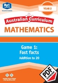 Mathematics: Fast facts – Addition to 20 – Year 2