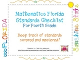 Mathematics Florida Standards Checklist for Fourth Grade