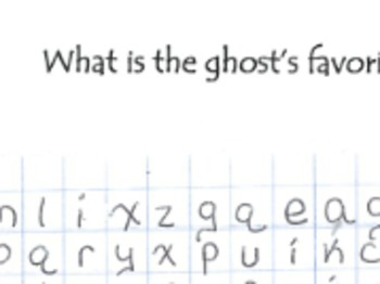 Mathematics Halloween Word Search (Number Sense & Geometry Vocabulary)