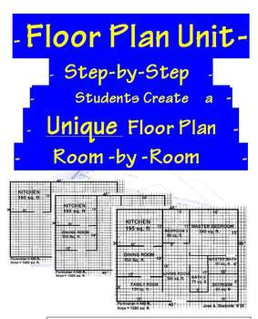 Mathematics home floor plan square area unit by for Floor mathematics