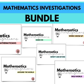 Mathematics Investigations - Volume 1 BUNDLE