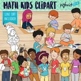 Mathematics Kids Clipart
