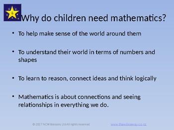 Mathematics Learning Through Play