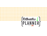 Mathematics Lesson Structure Planner