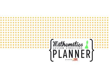 Mathematics Lesson Structure Planner