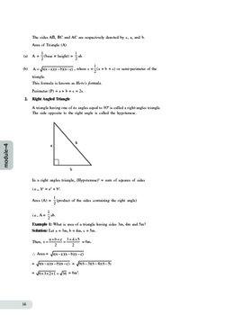 Mathematics-Module 4