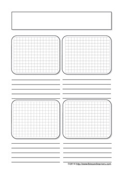 Mathematics Notebooking Page Templates