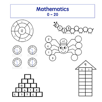 Mathematics: Number Bonds, Time, Counting