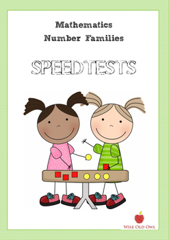 Mathematics Number families Speedtest book