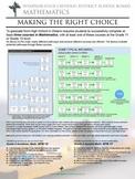 Mathematics Pathways Posters