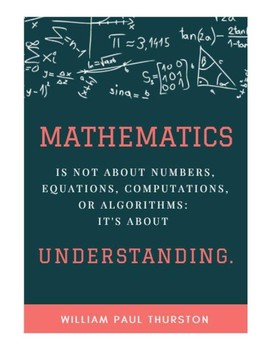 Mathematics Poster