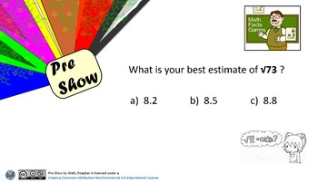 Mathematics Pre Show TADO