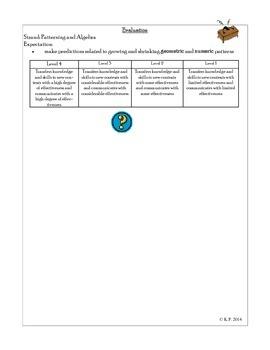 Mathematics Problem Solving Unit-Patterning