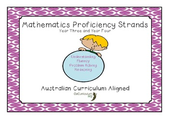 Mathematics Proficiency Strands Year 3 and Year 4