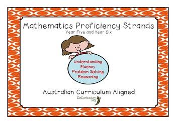 Mathematics Proficiency Strands Year 5 and Year 6
