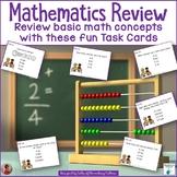 Mathematics Task Cards