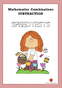 Mathematics Subtraction book