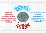 Mathematics Test Maker Demo