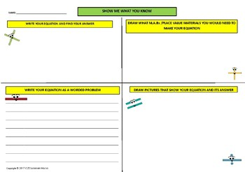 Mathematics Thinkboard Assessment Tool