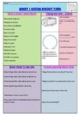 Mathematics 'Time' Prior Knowledge Survey