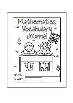 Mathematics Vocabulary Journal - Junior School