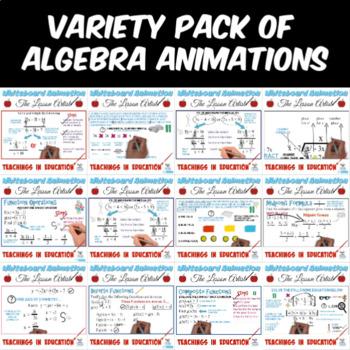 Mathematics Whiteboard Animation (Variety Bundle)