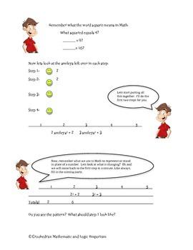 Mathematics - Writing Expressions