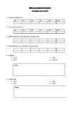 Mathematics extension - pre assessment printable