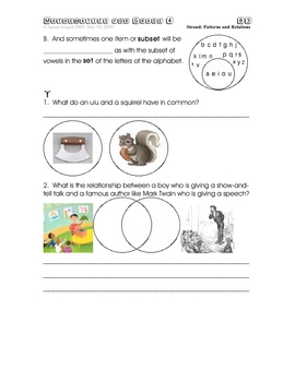 Mathematics for Grade 4 Chapter 2 Patterns