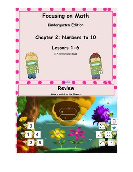 Mathematics in Focus Kindergarten SMART board lessons Ch 2