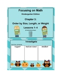 Mathematics in Focus Kindergarten SMART board lessons Ch 3