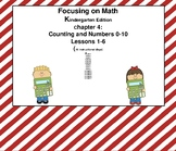 Mathematics in Focus Kindergarten SMART board lessons Ch 4