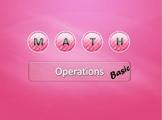 Mathematics test - mathematical operations