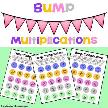 Mathématiques - Bump (Multiplications)