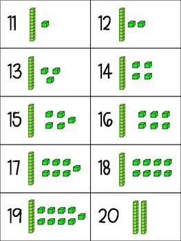 Mathématiques // Cartes Base 10: 1 à 100