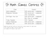 Math Games Centres