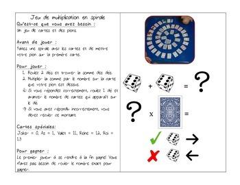Mathématiques - Centres de jeux