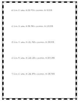 Mathématiques - Nombres décimaux : Ensemble