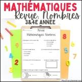 Mathématiques - Revue 3e / 4e année