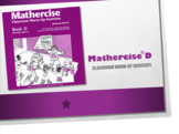 Mathercise™ Book D Classroom Warm-Up Exercise FREE