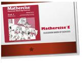 Mathercise™ Book E Classroom Warm-Up Exercise FREE