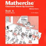 Mathercise™ Book A: Pre-Algebra Classroom Warm-Up Exercises A1-A50