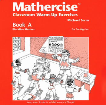 Mathercise™ Book A: Pre-Algebra Classroom Warm-Up Exercises A25-A36